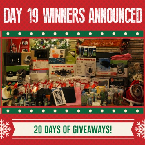 Day 19 Winners – SaveaLoonie's 20 Days of Giveaways