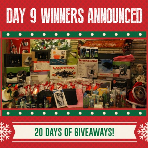 Day 9 Winners – SaveaLoonie's 20 Days of Giveaways