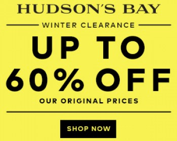 Hudson's Bay – Winter Clearance