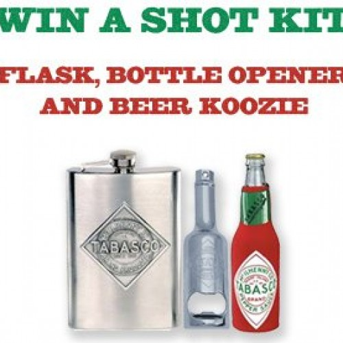 Tabasco Give It A Shot Contest