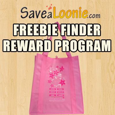 Savealoonie Freebie Finder Reward Program