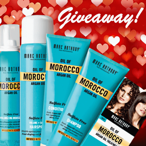 Marc Anthony Love Your Hair Giveaway