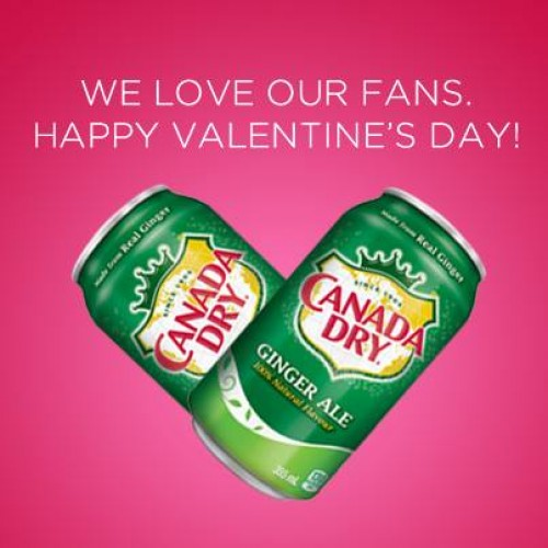 Canada Dry Valentine's Coupon *GONE*