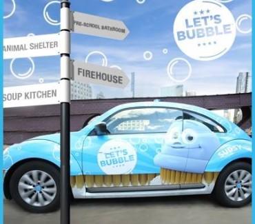 Scrubbing Bubbles – Let's Bubble Contest