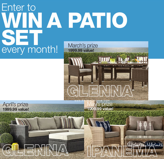 Home Outfitters Patio Set Contest