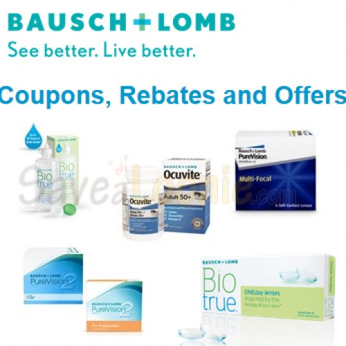 Bausch + Lomb – Coupons & Free Trials