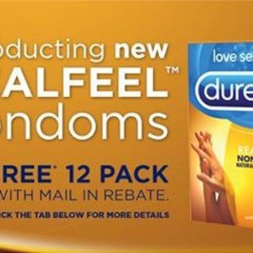 Free Durex RealFeel Condoms Rebate