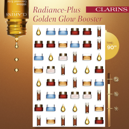 Clarins '1, 2, 3 Glow Game' Contest