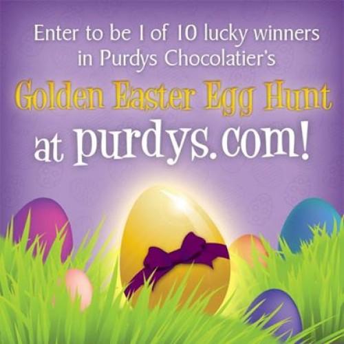 Purdy's Golden Easter Egg Hunt