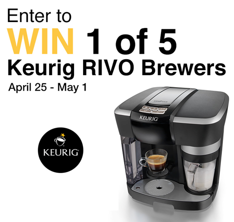 Home Outfitters     Keurig RIVO Brewer Giveaway