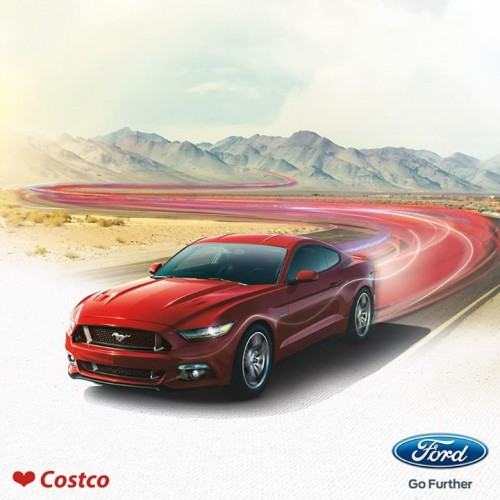 Costco – Win a 2015 Ford Mustang