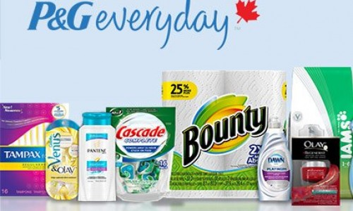 P&G Everyday Canada – Coupons & Free Samples