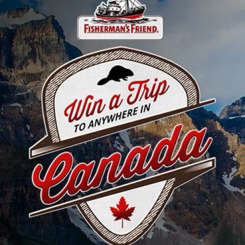 Fisherman's Friend Strong & Free Canadian Travel Contest