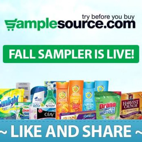 SampleSource Fall Sampler is LIVE! *SOLD OUT*