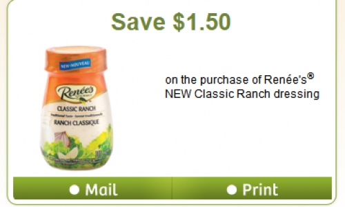 Hidden webSaver.ca – Renee's Classic Ranch Coupon