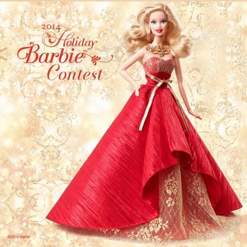 Holiday Barbie Contest 2014