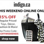 Chapters | Indigo – 15% Off Coupon Code