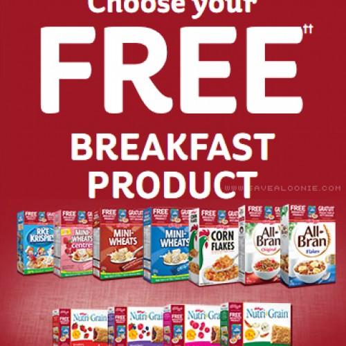 Kellogg's Free Breakfast Product Promotion