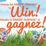 Unwrap the Kinder Surprise To Win Contest