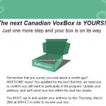 Check Your Emails ~ New Influenster Canadian VoxBox