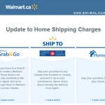 Walmart.ca To Start Charging For Shipping