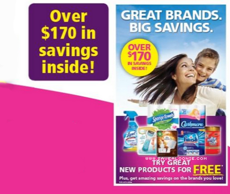 Great Brands, Big Savings Coupon Insert