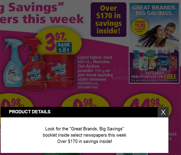 Big Brands, Big Savings Coupon Booklet coming this week!