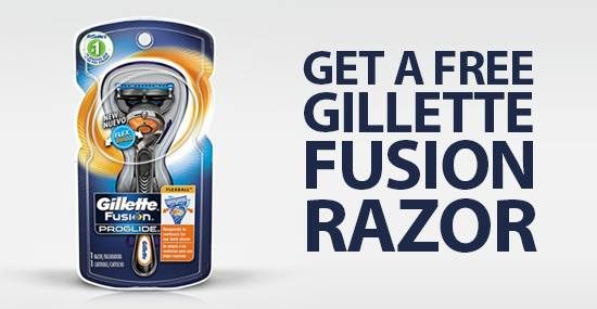 Gillette fusion proglide coupons printable 2019