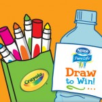 Nestle Pure Life Draw to Win Contest + Free Crayola Markers