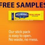 Free Hellmann's Stick Pack Sample