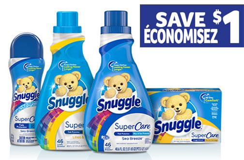 snuggle supercare coupon