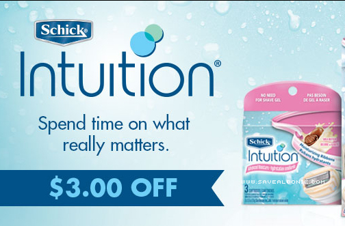Coupons for schick intuition razor refills