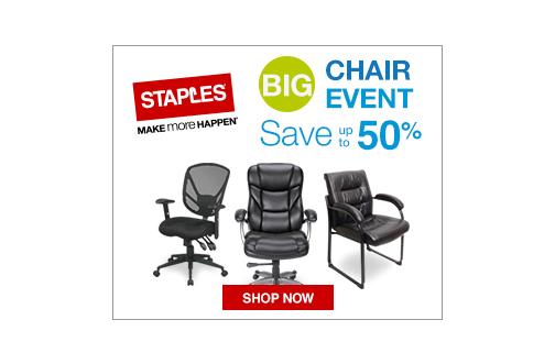sc 1 st  SaveaLoonie & Staples Big Chair Event u2014 Deals from SaveaLoonie!