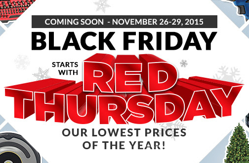 Canadian Tire Red Thursday Black Friday Flyer Deals From Savealoonie