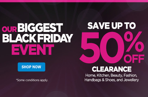 the shopping channel black friday