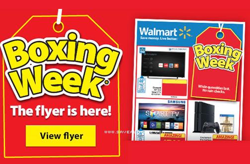 Walmart Canada Boxing Day Flyer 2016