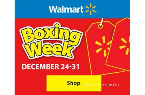 Walmart boxing week sale 2015