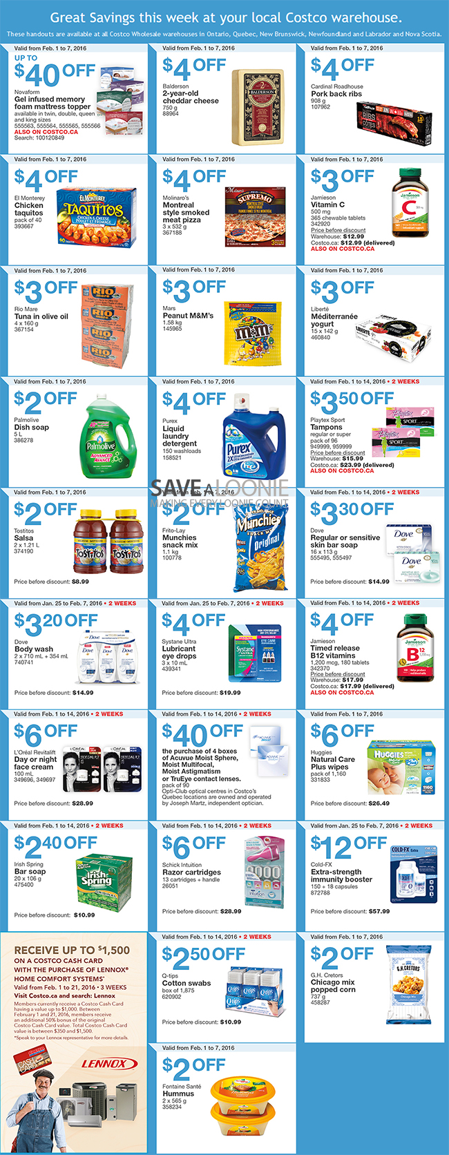 Costco warehouse coupons february 2019