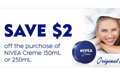 NIVEA Creme Coupon