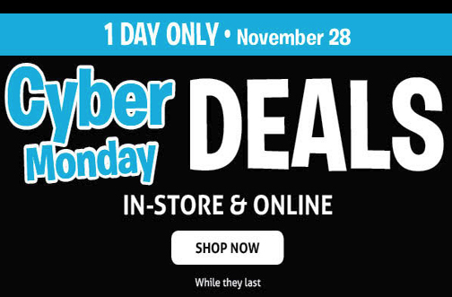 toys r us cyber monday sale deals from savealoonie. Black Bedroom Furniture Sets. Home Design Ideas