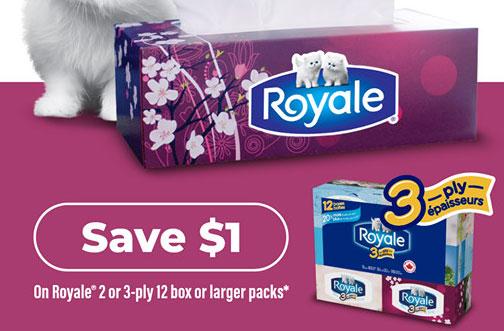 royale facial tissue coupon