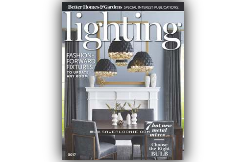 Free 2017 better homes gardens lighting magazine deals from savealoonie