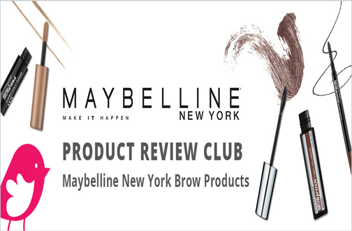 ChickAdvisor - Maybelline Brow Products