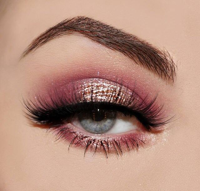 204eacfd02cd816a164dc8bdea74aa53 Pretty Makeup Pink And Gold Look