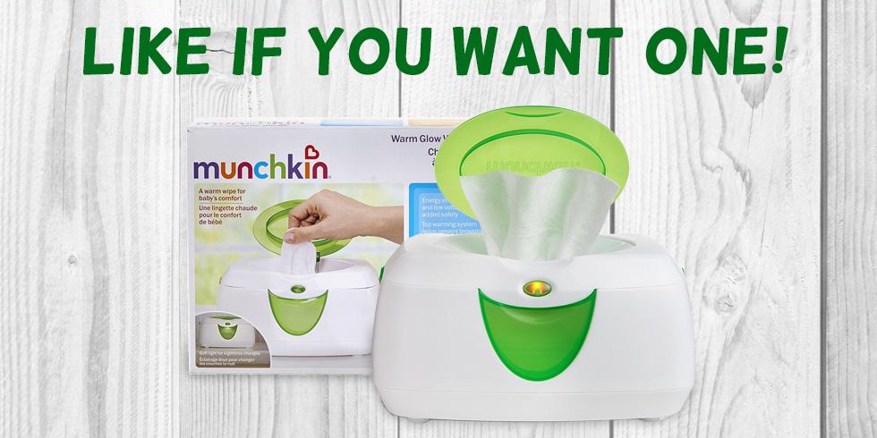 munchkin warm glow wipe warmer instructions