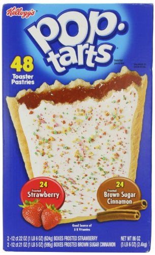 Kellogg S Pop Tarts Frosted Toaster Pastries 24