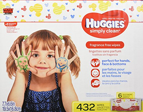 Huggies Simply Clean Fragrance Free Baby Wipes Deals