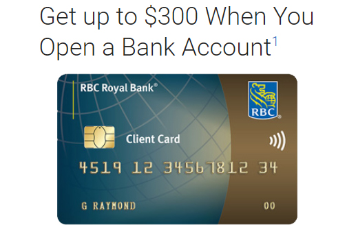 To From Deals You Bank Up Rbc Get Open Account An 300 When