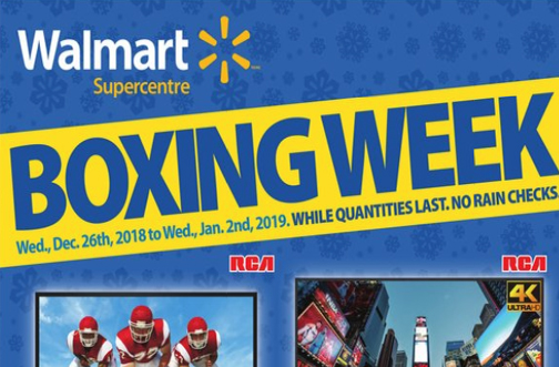 Walmart Boxing Day Flyer Preview 2018 Deals From