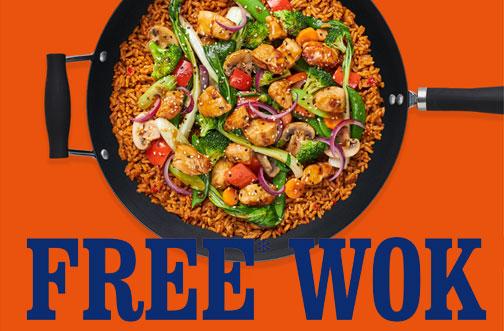 free uncle ben's wok